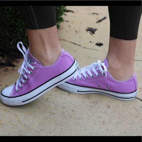 ee79d3846e5c Converse Shoes - Converse All Star Low Top Lilac light purple Sze 7